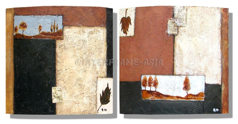 RD-8107W--RD-8108W-12X12 - Painting On Canvas at INTERFRAME-ASIA