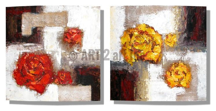 RD-8117D--RD-8116D-16X16 - Painting On Canvas at INTERFRAME-ASIA