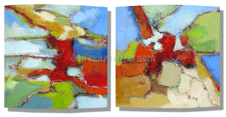 RD-8133W--RD-8134W-16X16 - Painting On Canvas at INTERFRAME-ASIA