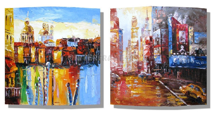 RD-8142W--RD-8145W-12X12 - Painting On Canvas at INTERFRAME-ASIA