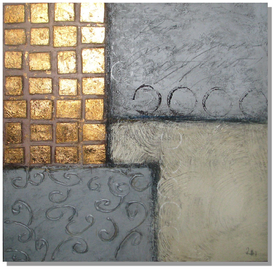 RD-9031T_80X80 - Painting On Canvas at INTERFRAME-ASIA