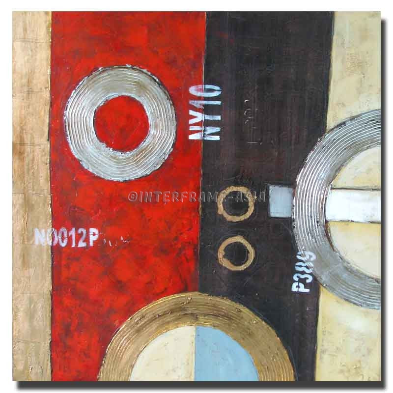 RD-9047N - Painting On Canvas at INTERFRAME-ASIA