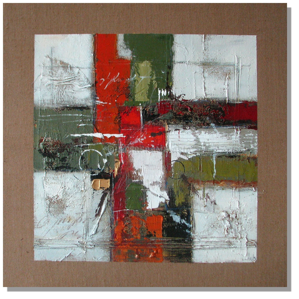 RD-9073T_40X40 - Painting On Canvas at INTERFRAME-ASIA