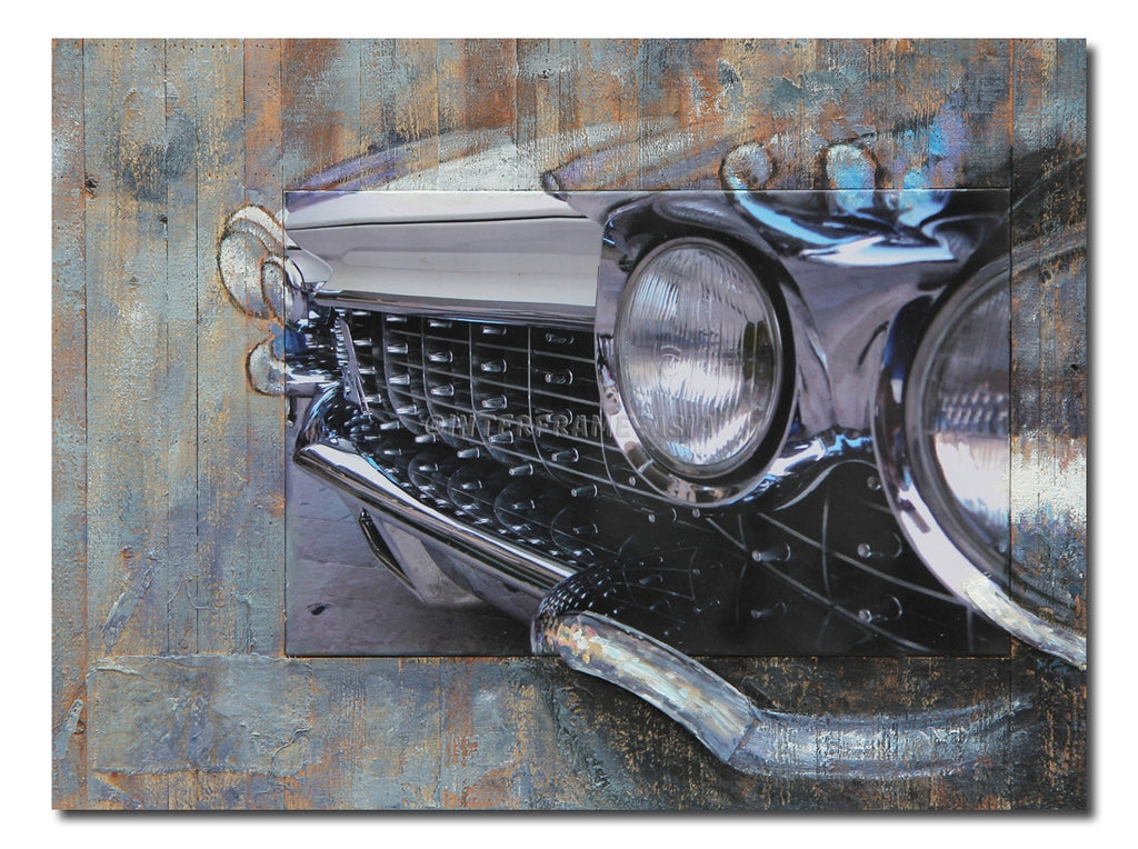 """Car Head"" - Painting On Canvas at INTERFRAME ASIA by Interframe-Asia"