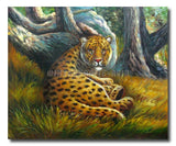 Silent Tiger - Painting On Canvas at INTERFRAME-ASIA