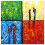 TD-111706 - Painting On Canvas at INTERFRAME-ASIA