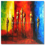 TD-117506 - Painting On Canvas at INTERFRAME-ASIA