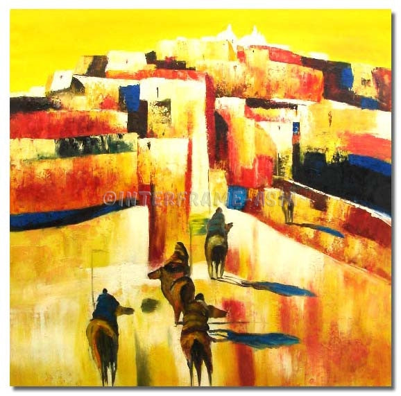 TS-329907 - Painting On Canvas at INTERFRAME-ASIA