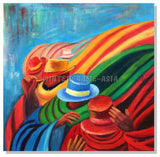 TU-3936 - Painting On Canvas at INTERFRAME-ASIA