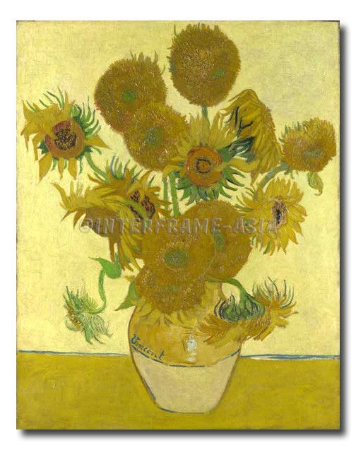 Sunflowers - Painting On Canvas at INTERFRAME-ASIA