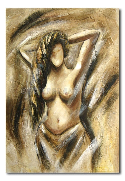 After Shower - Painting On Canvas at INTERFRAME-ASIA