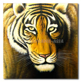 TIGER LOOK - Painting On Canvas at INTERFRAME-ASIA