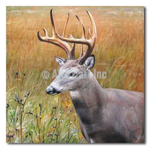 """Deer"" - Painting On Canvas at INTERFRAME ASIA by Interframe-Asia"