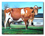 Mother Cow - Painting On Canvas at INTERFRAME-ASIA