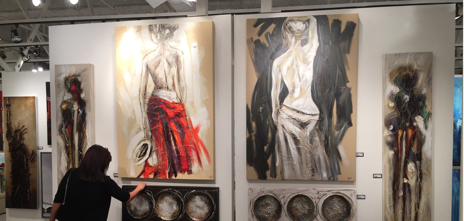 Our Paintings shown in Las Vegas 2015