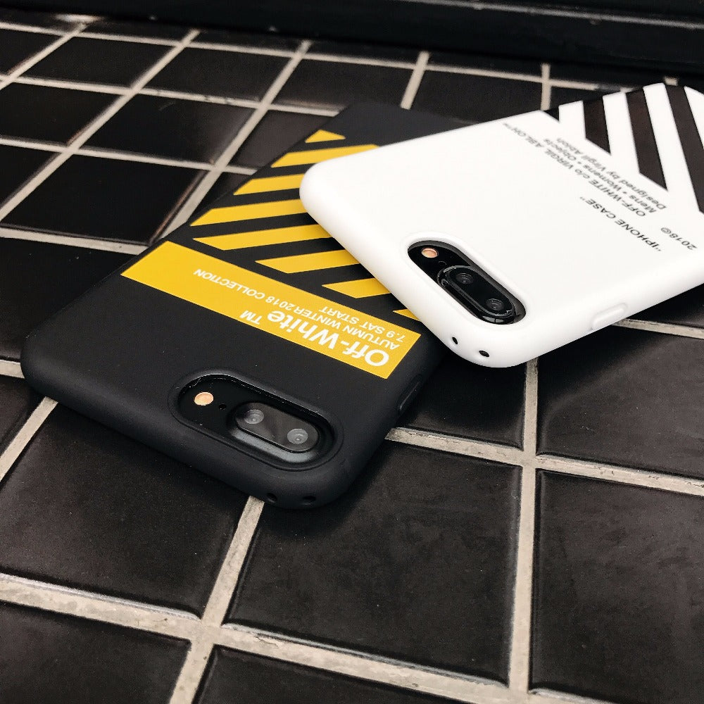 outlet store 94558 855f9 2017 New OFF WHITE Zebra Soft TPU Case For iphone 7 7plus High Quality  Protectve Cover For iphone 6 6s 6plus Luxury phone cases
