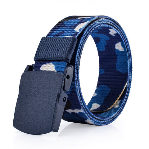 2018 Designer Belts for Men Top Quality Camouflage Canvas Belt Men Military Equipment Cinturones Hombre Tactical Belt Brand
