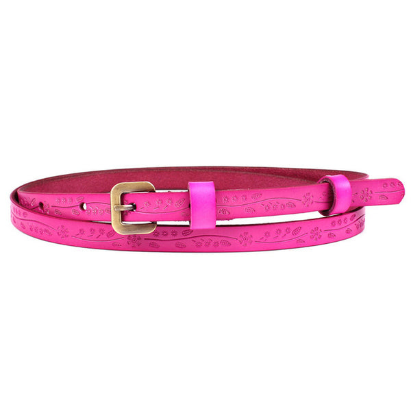 2018 Good Women belts cow genuine leather pin buckle belt original vintage style top quality newest luxury female strap