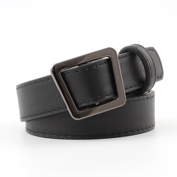 2018 Luxury Belt Women's Men's Belt Pin Buckle Genuine Leather Strap For Jeans High Quality Comfortable PU Belt