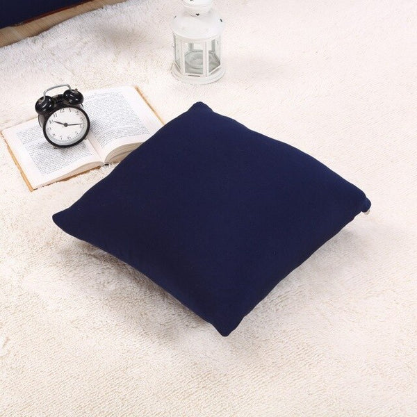 25 Colors Cushion Cover Pillowcase Elastic Cushion Cover Chair Sofa Car Decor 45x45CM