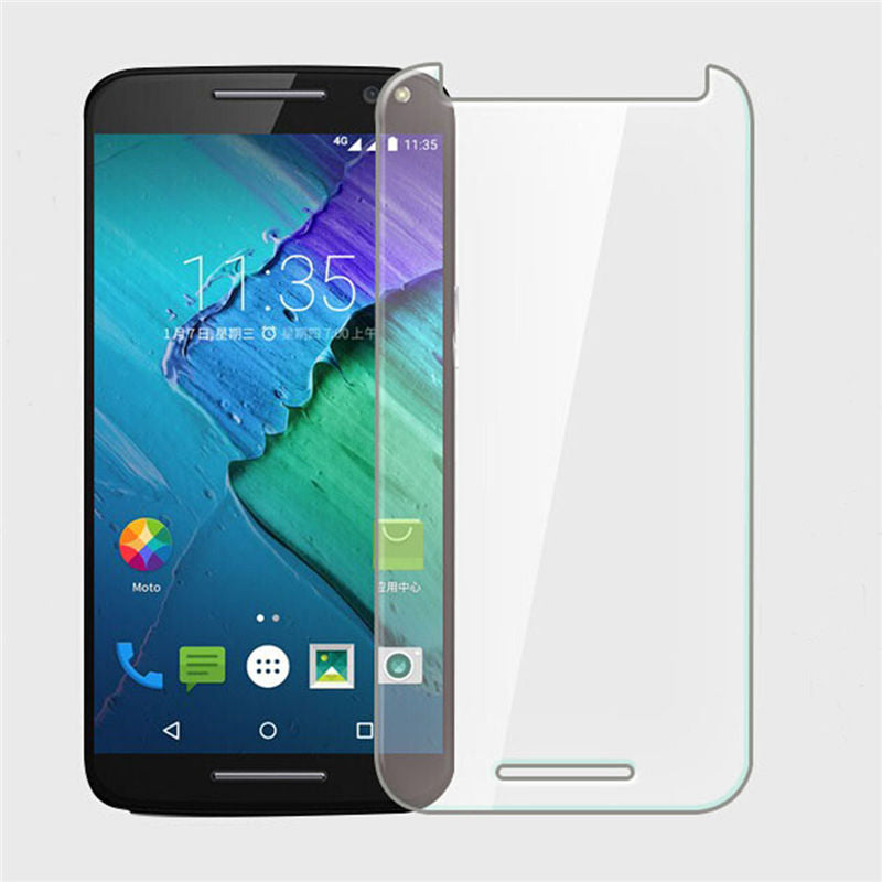 2PCS For Glass Moto X Play Screen Protector Tempered Glass For Moto X Play Glass Phone Film For Motorola Moto X Play WolfRule