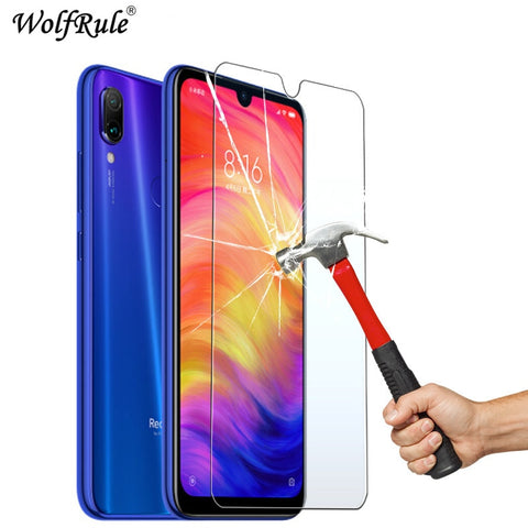 2PCS screen protector for Xiaomi Redmi Note 7 Pro Glass Redmi Note 7 Protective film ultrathin Redmi Note 7 Pro tempered glass