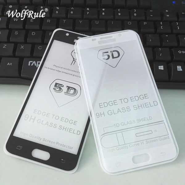 5D Full Glue Cover Tempered Glass For Samsung Galaxy A5 2016 Screen Protector Film For Samsung A5 2016 Full Glue Glass a510