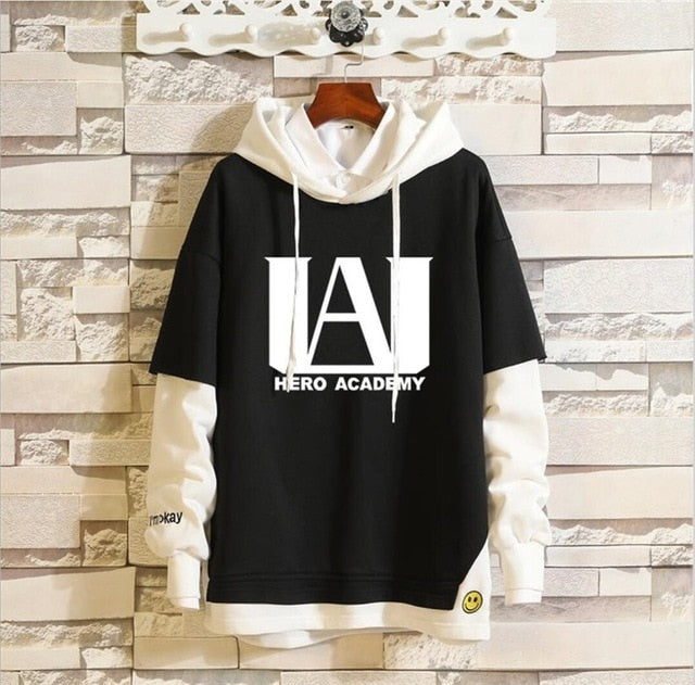 Anime My Boku no Hero Academia Midoriya Izuku Todoroki Shoto Cosplay Hoodie Sweatshirt Costume Spring Men Women Pullover Coat