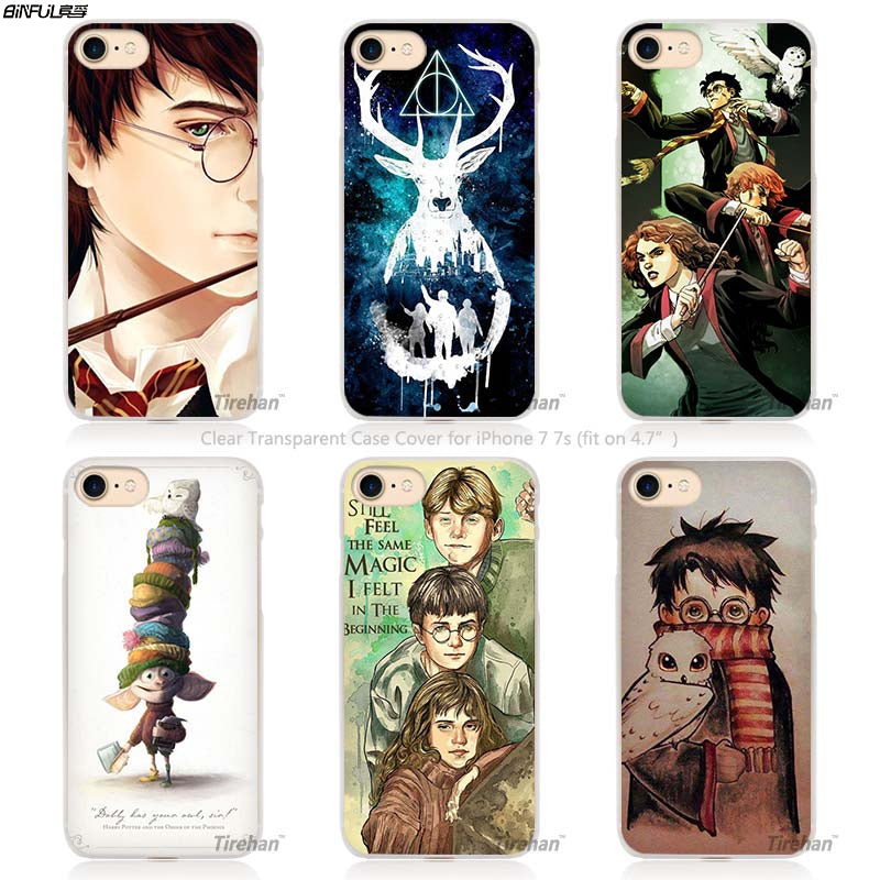 BiNFUL harry potter dream magic Hard Transparent Phone Case Cover Coque for Apple iPhone 4 4s 1024x1024