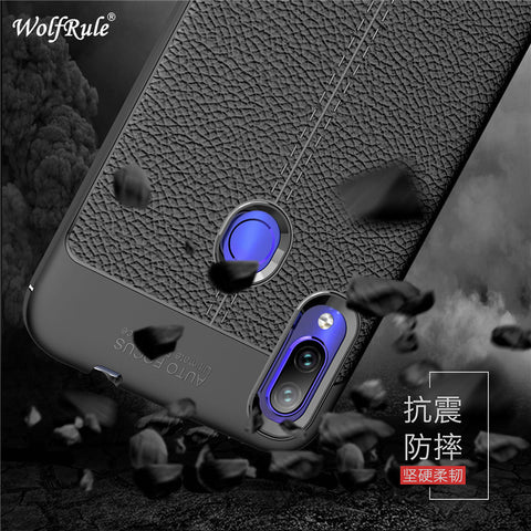 Case For Xiaomi Redmi Note 7 Pro Cover Shockproof Luxury Leather Soft TPU Case For Xiaomi Redmi Note 7 Case Redmi Note 7 Funda