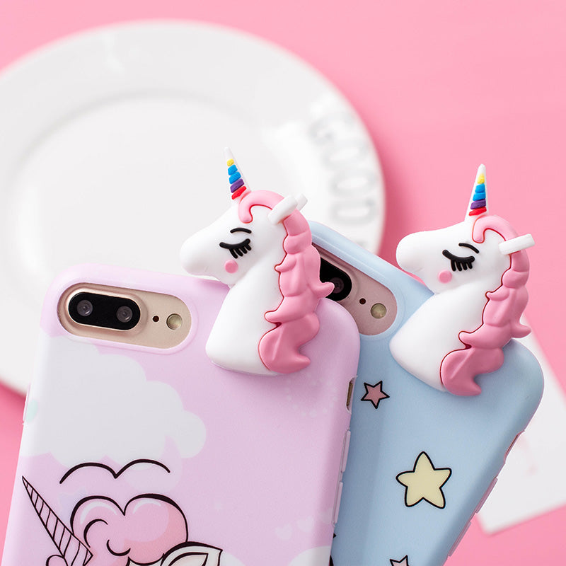 Unicorn Phone Case For iPhone 6/6S ($8
