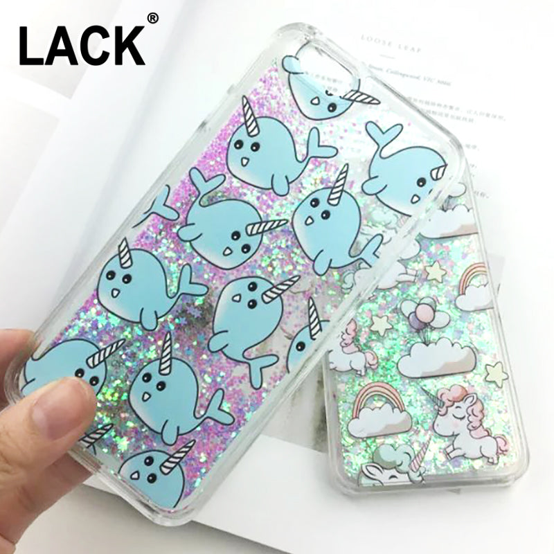 iPhone 6/6S Glitter Unicorn Case