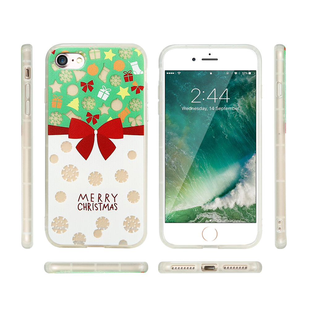 FLOVEME Christmas Phone Cases For iPhone 7 6 6s Soft Silicone ...