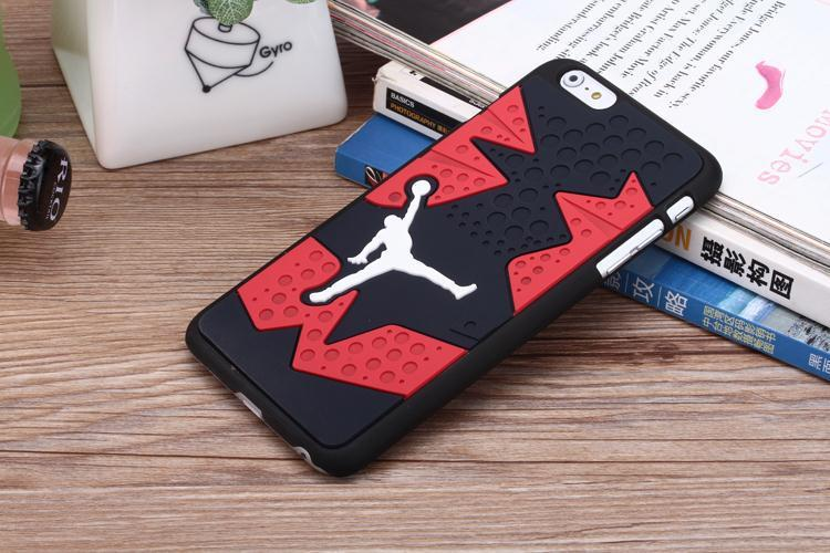 new style 63506 94b7f For iPhone 5 5s SE Case Jordan Shoe Sole Sneaker Rubber Coque Fundas For  iPhone 6 6s 7 8 plus jordan Silicon Phone Case Cover