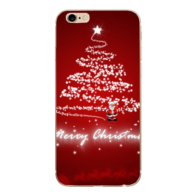 for iphone6 case christmas santa case for iphone 6s 6 7 7 plus 5 5s case