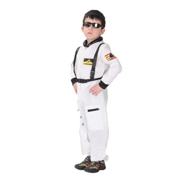 Astronaut Cosplay Halloween Children Costume