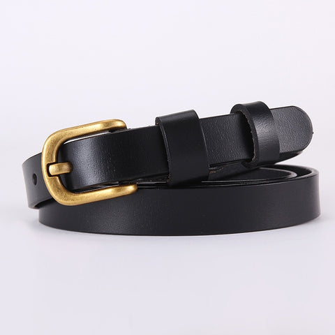 Hot Sale Brand Luxury Pin Buckle 100% Cowhide Female Belt For Women Hip-Hop Genuine Leather Jeans Girdles Belts