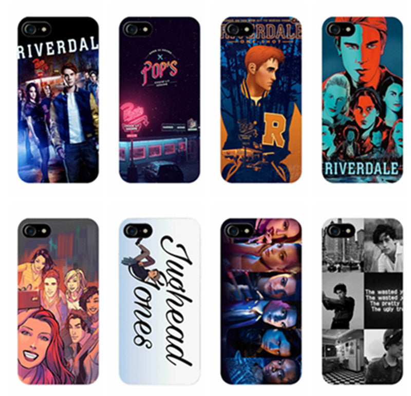 online retailer adc93 41225 Hot TV Riverdale TPU Silicone Cover Case for Apple iPhone 7 7PLUS 6 6s Plus  SE 5 5s phone cases for iPhone 7 7plus 6 6s Plus