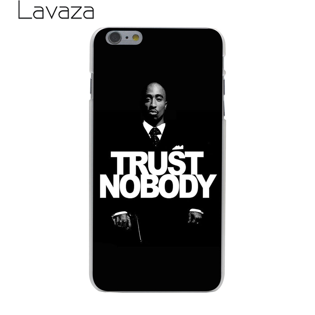 competitive price 0b990 22519 Lavaza 2Pac Tupac Shakur Hard Phone Cover Case for Apple iPhone 10 X 8 7 6  6s Plus 5 5S SE 5C 4 4S Coque Shell