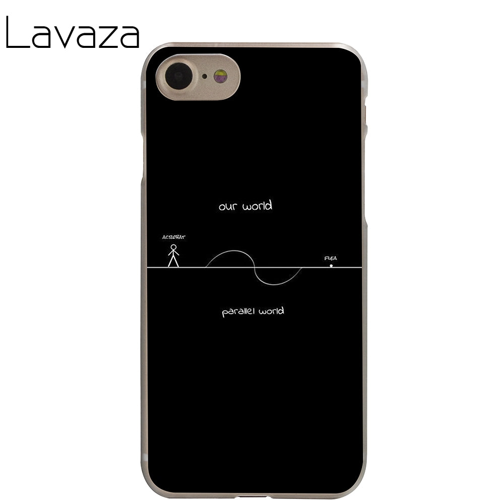 size 40 55883 6f6a2 Lavaza stranger things Cover Case for iPhone X 10 8 7 6 6S plus Cases for  Apple 5 5S 5C SE 4 4S Coque Shell