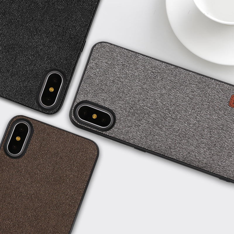 buy popular f0769 1a11d MOFi case for iphonex case cover silicone edge shockproof men business for  apple x iphone x back cover for iphonex iphone x case
