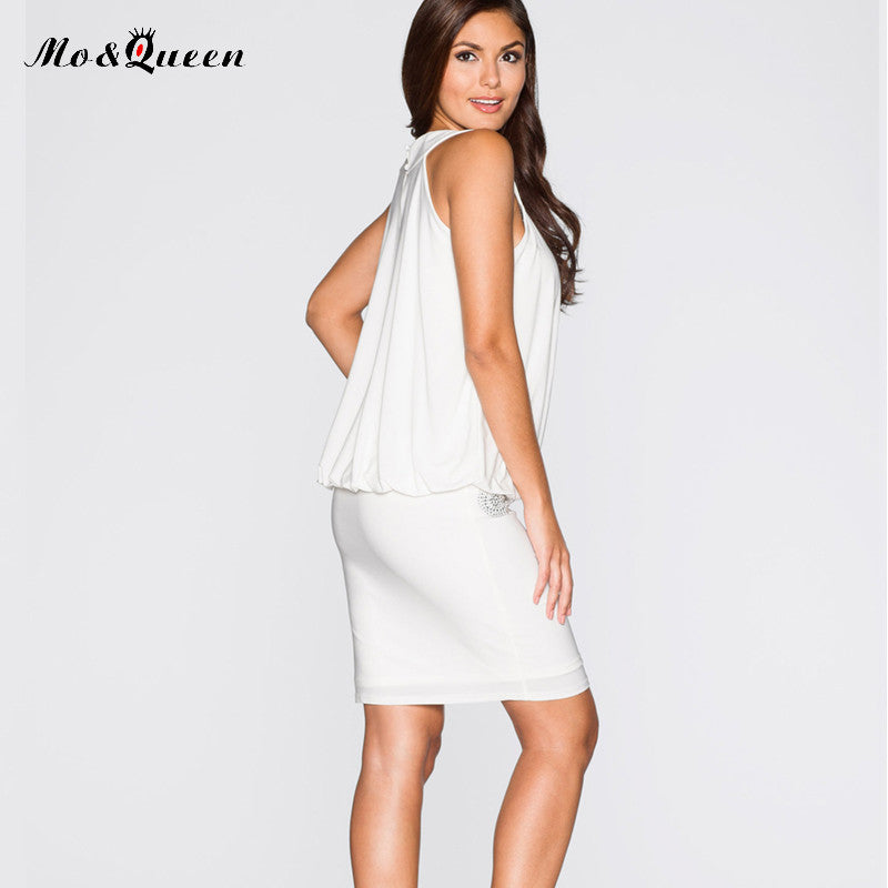 White Summer Party Dresses
