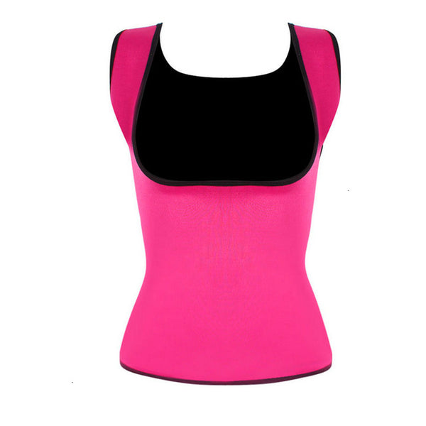 Neoprene Sweat Waist Trainer Vest For Weight Loss Women Slimming Shirt Body Shaper With Sauna Suit Effect Vest Body Shapers