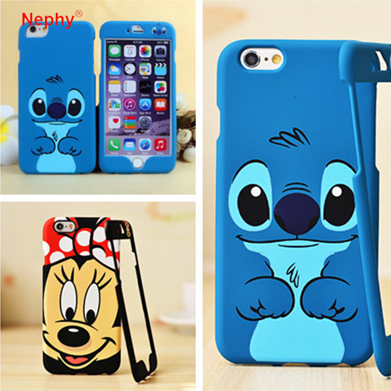 Nephy Mickey Stitch Pattern 360 Degree Full Coque Case For iPhone ...
