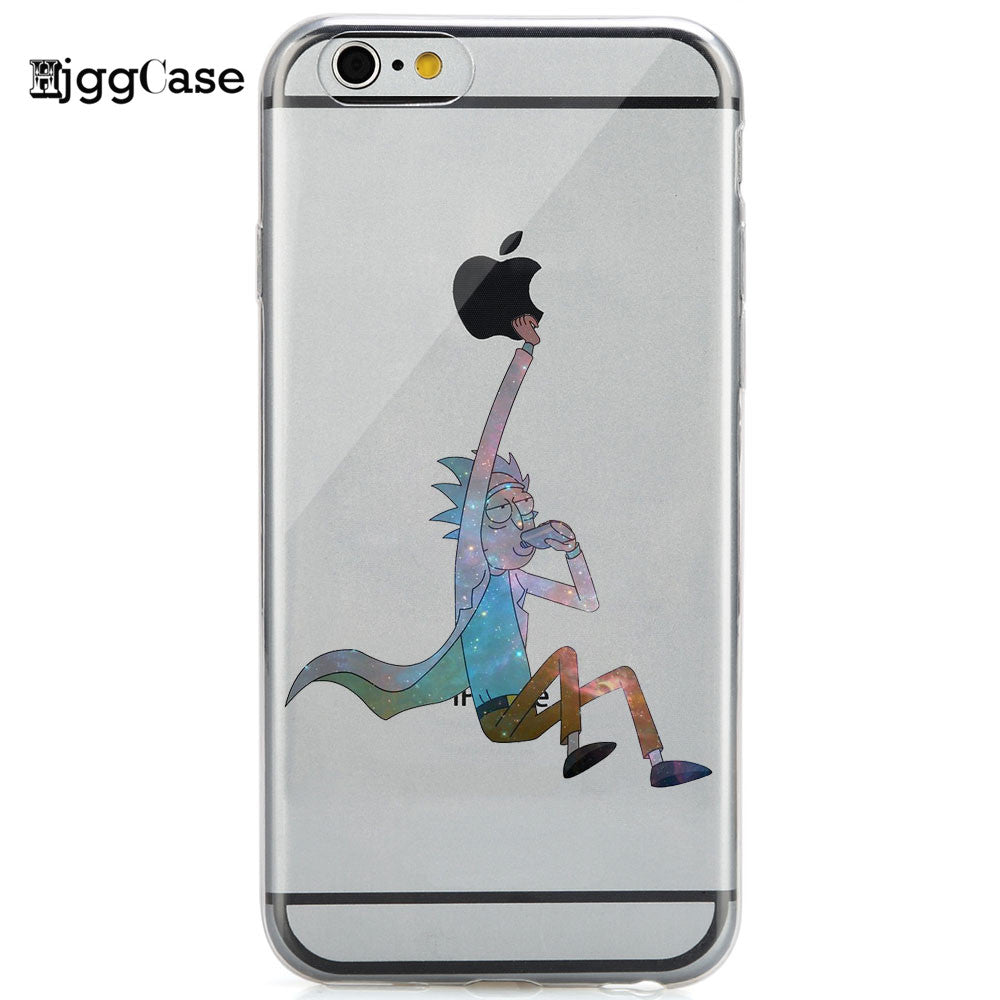 cover iphone 6 rick and morty