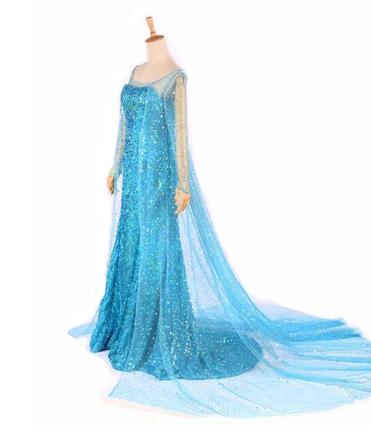Snow Queen Princess Elsa Cosplay Cosplay Halloween Costumes For Women