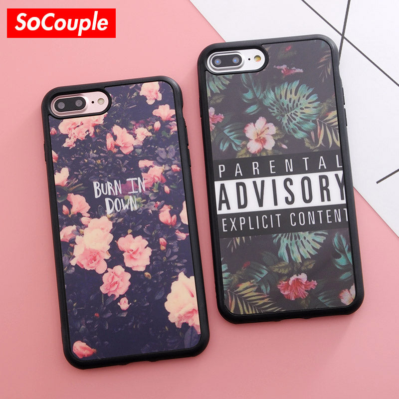 cover iphone 5s flower