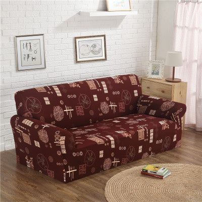 Sofa Cover Loveseat Furniture Protector Sofa Protect Sofa Tight Wrap All-inclusive Slip-resistant Elastic Soft Sofa Cover
