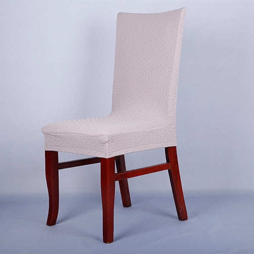 Spandex 13 Colors Stretch Dining Chair Cover Machine Washable Restaurant For Weddings Banquet Folding Hotel Decoration Decor CT