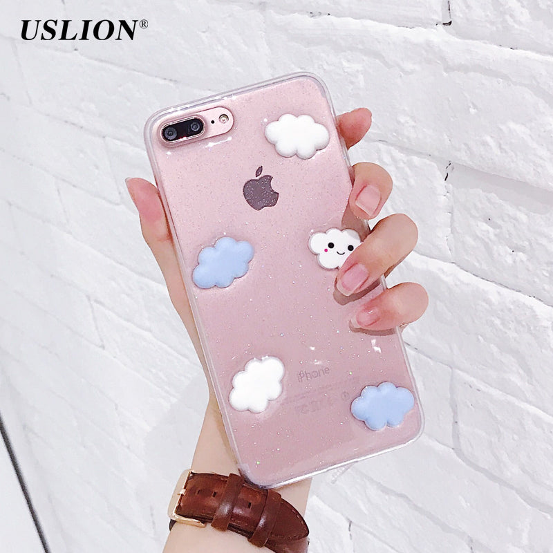 Cartoon Mobile Phone TPU Case